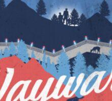 Visit Wayward Pines Sticker