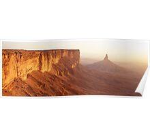 Sunset at Faisal's Finger Poster