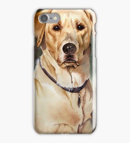 """Dove"" the Labrador Retriever iPhone Case/Skin"