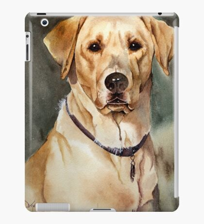 """Dove"" the Labrador Retriever iPad Case/Skin"