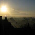 Borobudur Sunrise by Arkka Sandhya