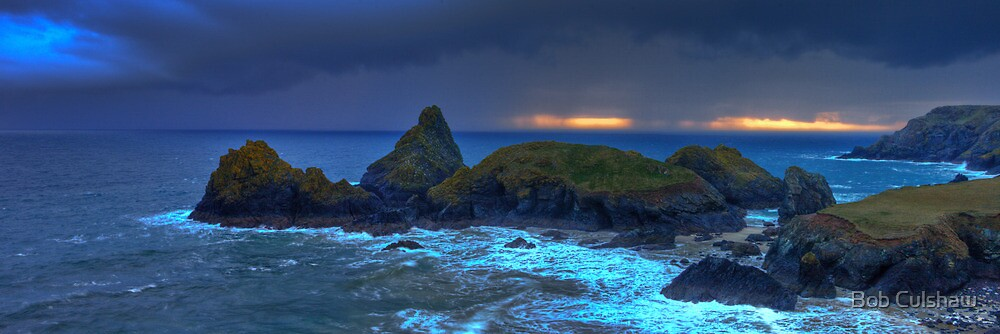 Kynance Cove by Bob Culshaw