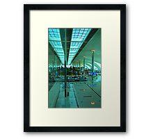 Dubai International Airport Terminal Framed Print