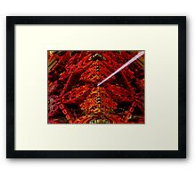 Death Ray Of Alpha 214 Framed Print