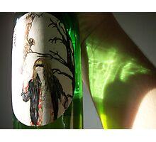 Bottle Reflection Photographic Print