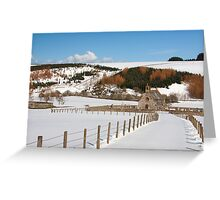 Cranshaw's Kirk in the snow Greeting Card