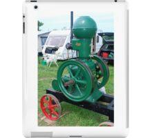 Stationary engine iPad Case/Skin