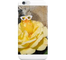 Chick on Rose iPhone Case/Skin