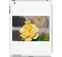 Chick on Rose iPad Case/Skin