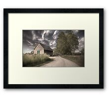 August Haze Framed Print