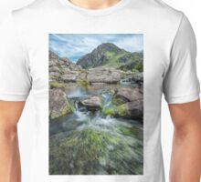 Tryfan Mountain Stream  Unisex T-Shirt