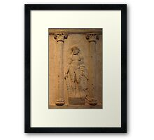 Ancient Male Torso Framed Print