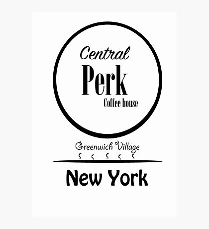 Central Perk Photographic Print