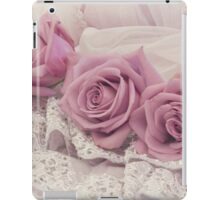 Roses And Beaded Lace  iPad Case/Skin
