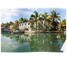 Jolly Harbor, Antigua Poster