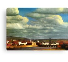 Barnstaple - Typical Sleepy English Town Canvas Print