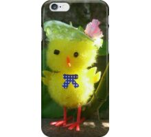 Chick with Bonnet iPhone Case/Skin