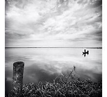 Grassy Glassy Lake Photographic Print