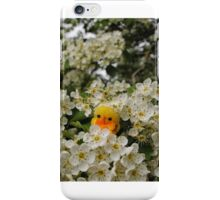 Chick on Blossom iPhone Case/Skin