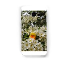 Chick on Blossom Samsung Galaxy Case/Skin