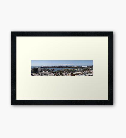 Long Beach California Pano 2005 Framed Print