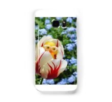 Chick in Tulip Samsung Galaxy Case/Skin