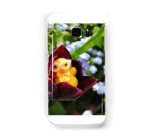 Chick in Black Tulip Samsung Galaxy Case/Skin