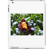 Chick in Black Tulip iPad Case/Skin