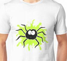 Spider Splat - Green Unisex T-Shirt