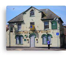 Royal Oak and Gas Tavern Canvas Print