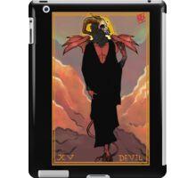 Tarot Series: XV Devil iPad Case/Skin