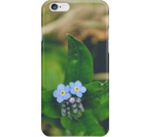 Forget Me Nots iPhone Case/Skin