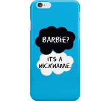 Under The Dome- Barbie Nickname iPhone Case/Skin