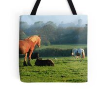 Horse Mother Tote Bag