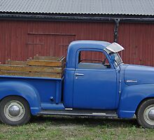 1947 Chevrolet 1/2 ton truck by Paola Svensson