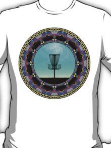 Disc Golf Abstract Basket 3  T-Shirt