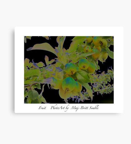 """""""Fruit"""" Canvas Print"""