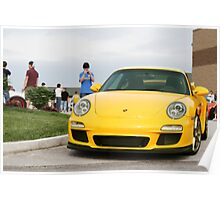 The investment you can't afford not to make. Porsche GT3 Poster