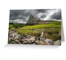Ynys-y-Pandy Slate Mill Greeting Card