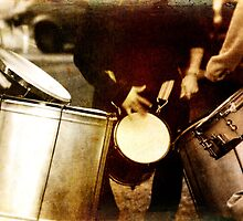 Vieja Drums by Kelly J  Parsons