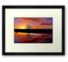 'Sunrise for the Soul' Framed Print