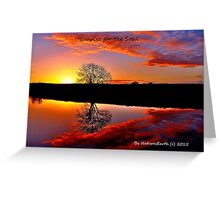 'Sunrise for the Soul' Greeting Card