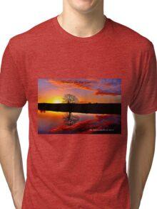 'Sunrise for the Soul' Tri-blend T-Shirt