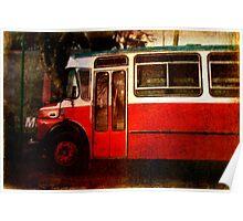Vieja Bus Poster