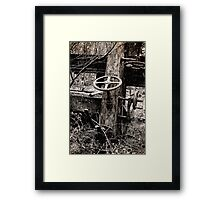 Half a Turn Framed Print