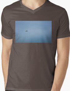 Lonely Boat Mens V-Neck T-Shirt