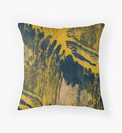 Tigers Eye  Throw Pillow