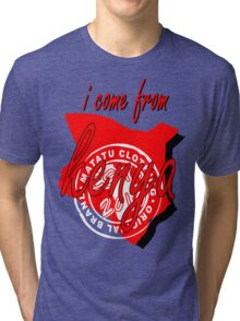 i come from 254 Tri-blend T-Shirt