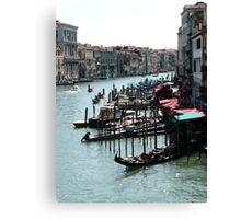 The gondolas Canvas Print