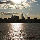 Sunset Over the Philadelphia Skyline by StudioEleven